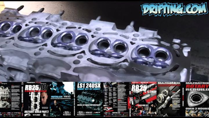 Bow in the Middle - Center of the Head can get Hotter - 2JZ Engine Rebuild