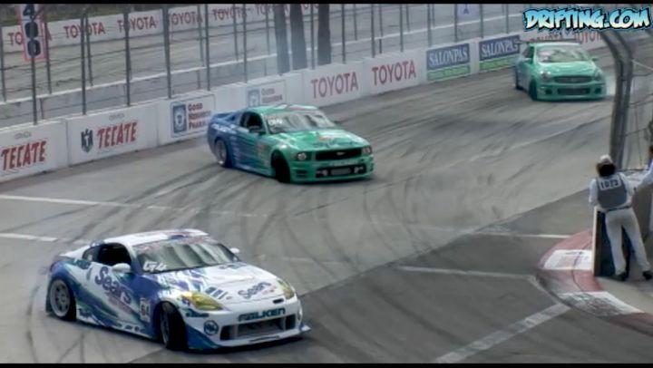 Formula D Team Drift at 2006 Long Beach Grand Prix
