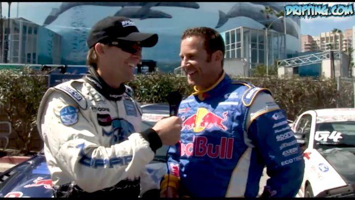 Samuel Hübinette and Rhys Millen - Formula D Team Drift at 2006 Long Beach Grand Prix