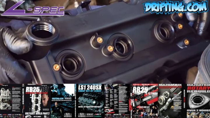 350Z / G35 VQ35 Valve Cover Seal - Quick Tip @lspecauto