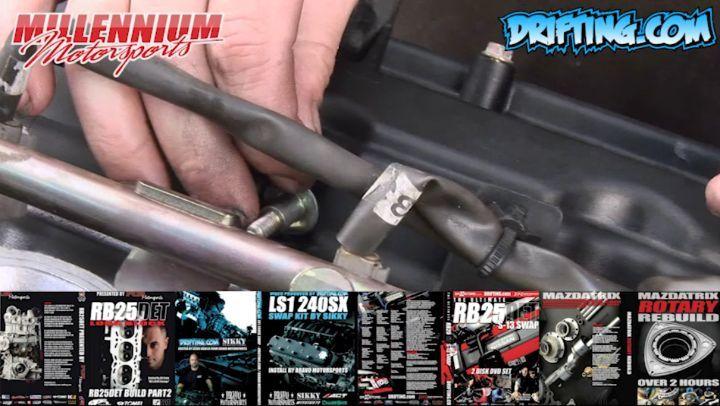 350Z VQ35 Engine Rebuild - Valve Cover - Quick Tip