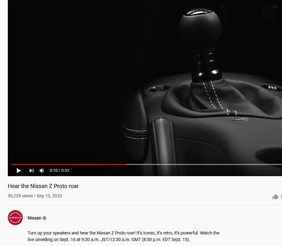 Nissa Z Proto will have a Manual Transmission
