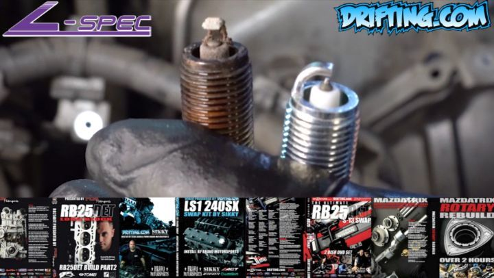 Spark Plug with Over 185,000 Miles @lspecauto
