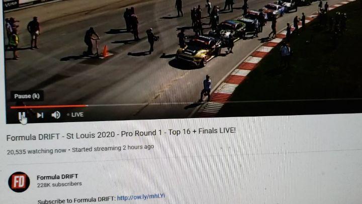 Watch Formula Drift Live - Top 16 Round 1 - 2020