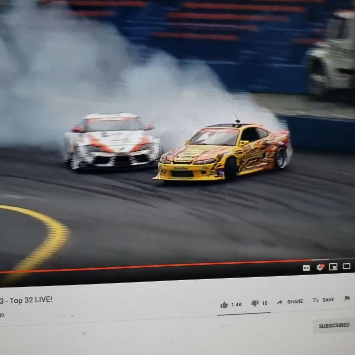 Watch Formula Drift Round 2 Live