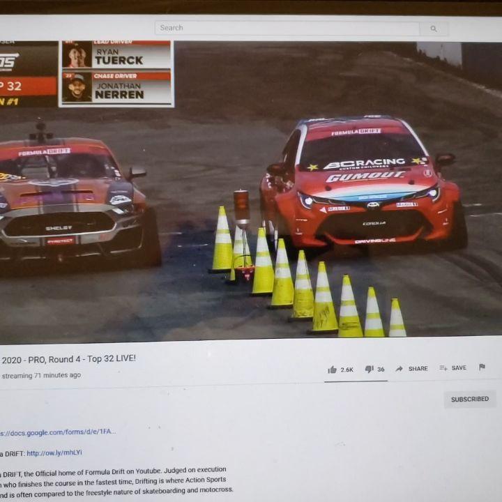 Watch Formula Drift Round 4 Live - 2020 Seattle