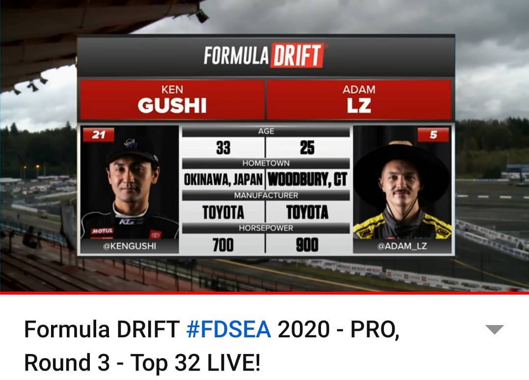 Watch Formula Drift Seattle Live !
