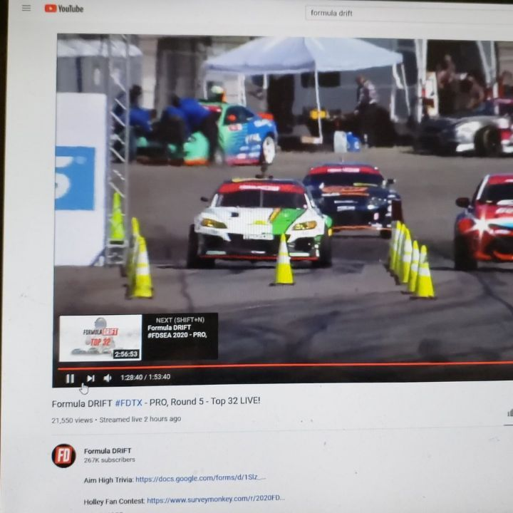 Formual Drift Texas 2020 - Pro Round 5 Top 32 Live