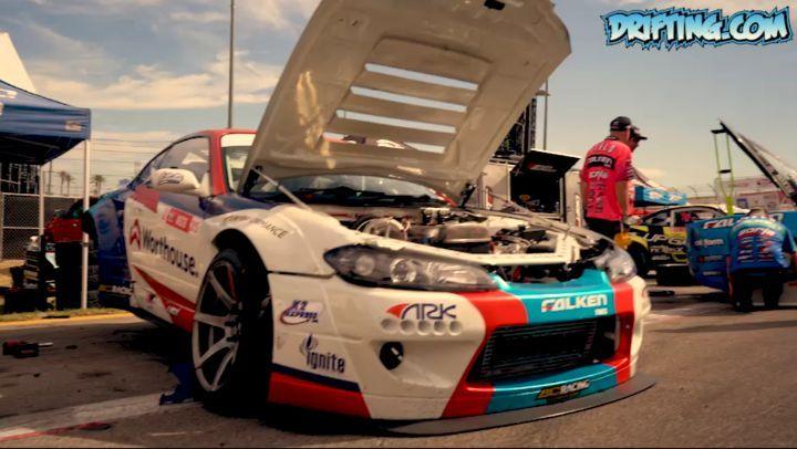 Formula Drift Irwindale 2019 - Pits - Short Video (Part 1)