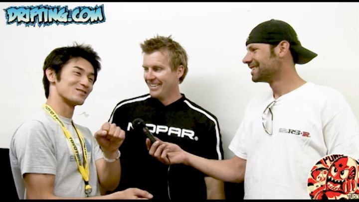 KEN GUSHI, SAMUEL HUBINETTE & ALEX PFEIFFER, 2006 Formula Drift at Long Beach Grand Prix