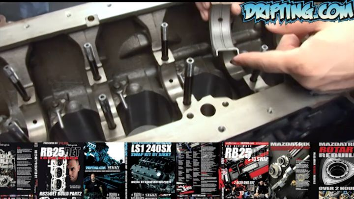 RB25DET Engine Rebuild Video Clip 2 - Hosted by Ali @katethejeep Video by @driftingcom Music by Dan Henig