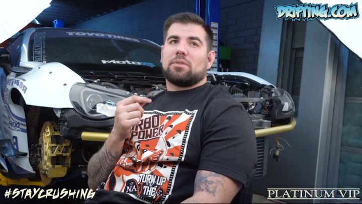 Robert from Stay Crushing Talks about his FRS Engine Rebuild in 2018 Short Video (Part 7) @staycrushing