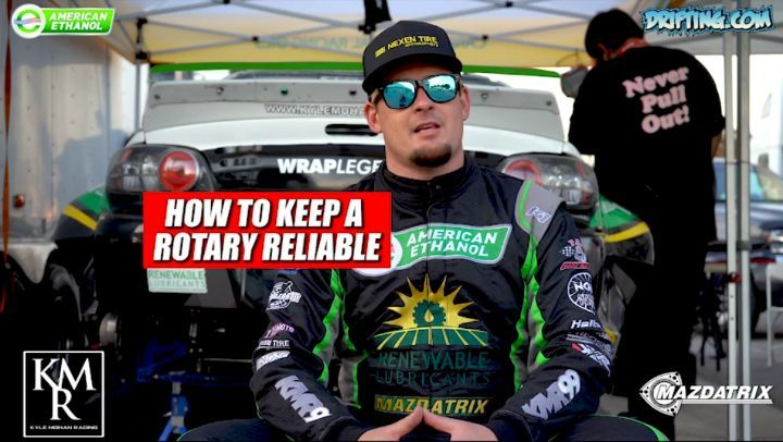 How to Keep a Rotary Reliable - Continued @kylemohanracing