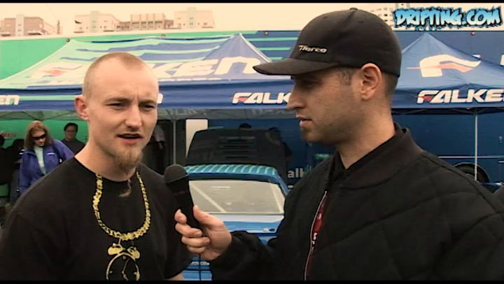 Ross Petty at 2007 Formula Drift Long Beach - Interview by Ali @katethejeep @garage_boso