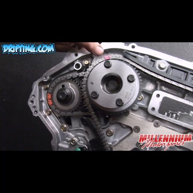 Verify Marks on the Timing Chain / Gears - 350Z VQ35DE Engine Rebuild