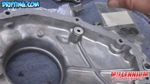 Not Putting Silicone on these Areas when Rebuilding a 350Z Engine