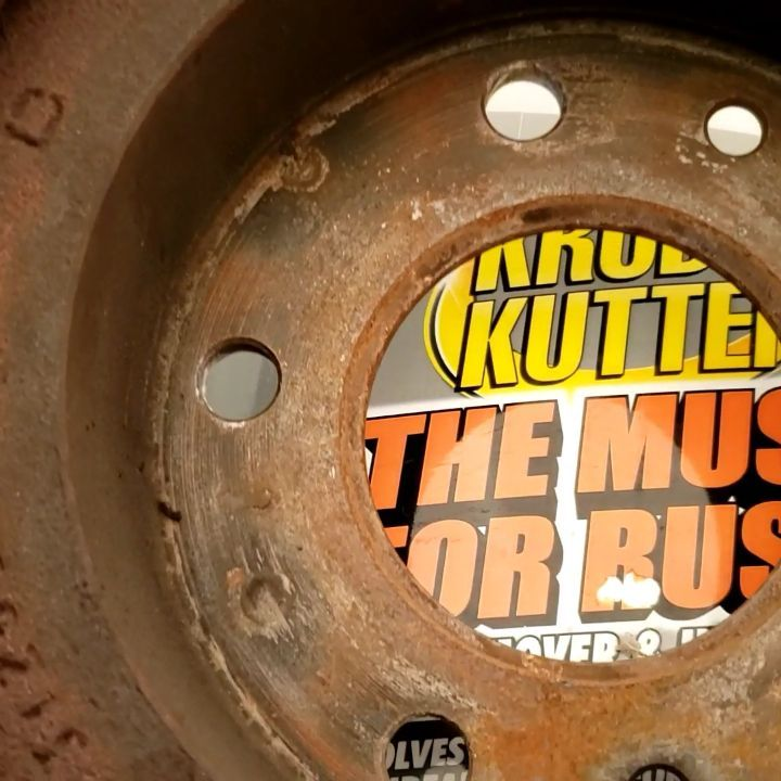 Will this Rust Remover Work on Brake Rotors?