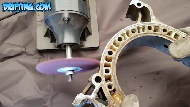 Can this Rotary Engine Housing be Cleaned!