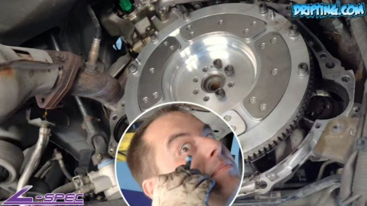 Why Blue Threadlocker is Being Used on This Flywheel Install