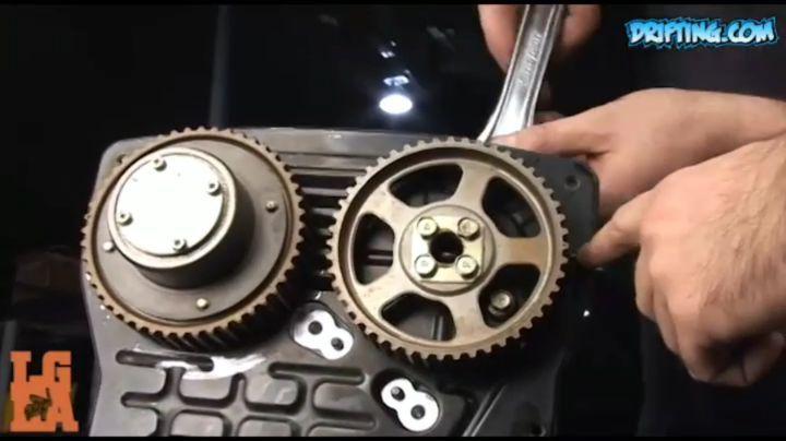RB25DET Engine  Rebuild Project by Ali