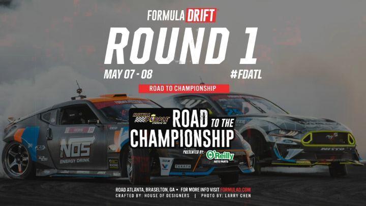 2021FormulaDRIFTPRO Championship kicks off on May 7-8 at Michelin Raceway Road Atlanta
