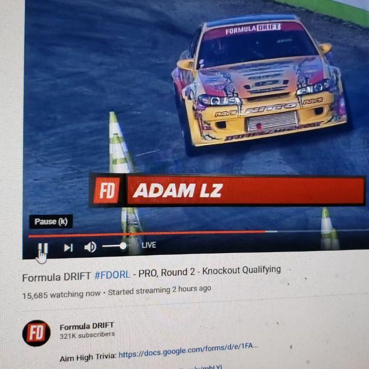 Watch the  2021 Formula Drift Florida Live Video