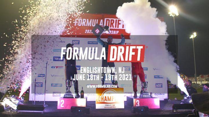 Formula Drift Round 3 - Englishtown New Jersey June 18-19 2022