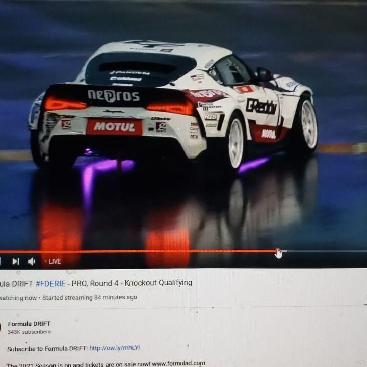 Watch Formula Drift Live on YouTube